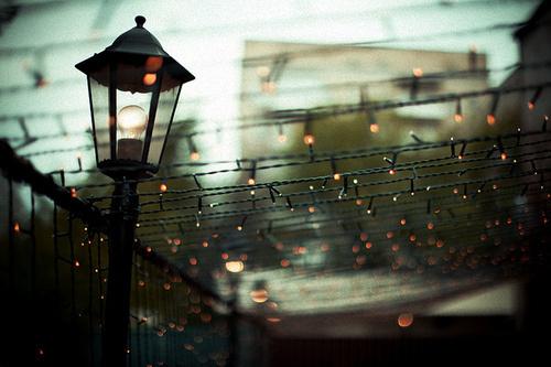 大家看到街灯会想起什么故事吗?