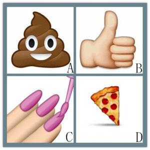 选择你最常使用的表情: